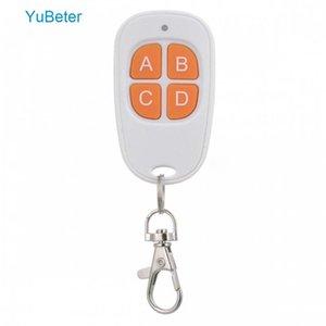 YuBeter 433MHZ 315MHZ 330MHz Wireless Control Remote-ABCD-Knopf Cloning Garage Tor Tür Elektro