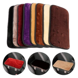 1Pcs Car Armrest Box Pad Cover Center Console Box Armrest Pad Cushion Cover Durable Wear Mat For Car Auto SUV