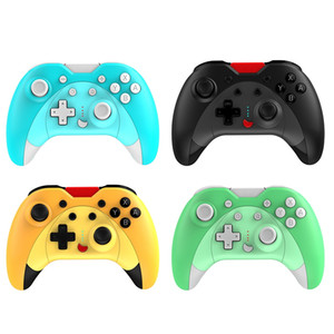 For Switch Wireless Bluetooth Game Controller With Vibrating Six-axis For NS PS3 PC Android Wired Controller