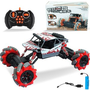 Stunt drift climbing bigfoot off-road vehicle charging remote control children electric toy car