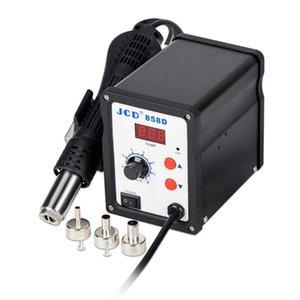 BK-858D SMD Brushless Heat Gun Hot Air Rework Estação de solda + 3pcs Bicos de retrabalho Estação de solda fio com braçadeira 700W