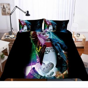 3D Suicide Squad Harley Quinn Joker Duvet Cover Bedding Set Quilt Doona Cover