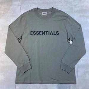 4colors maniche lunghe T-shirt Donne 1 migliore qualità-Tee 2021FWss Streetwear maglietta