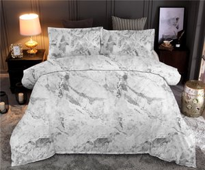Marble Printed Bedding Sets Geometric Duvet Cover Sets Queen King Quilt Cover Bed Linen