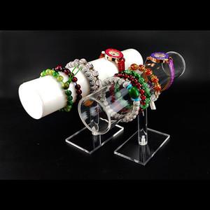 Ювелирные изделия, сумки Акриловый браслет держатель стойки часы держатели ювелирных изделий Организатор Juweler Organizer для головной веревки Витрина T