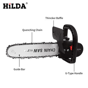 Shilda Electric Tool Angle Mill Changing Chain Saw Polisher To Electric Saw Converter