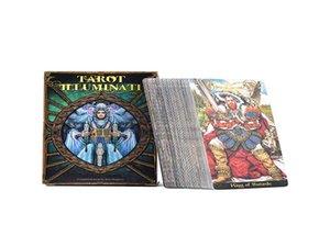 Divertissement Guidance Oracle famille jouant jeu Tarot cadeau plate-forme divinatoires Cartes Jeux Destin English Board Party Carte vpHEb