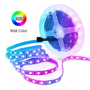 LED Strip Lights, 16.4ft 5M 300 Units Cuttable SMD 5050 12V Non-Waterproof Flexible LED Tape Light for Home, Kitchen Cabinet, Living Room