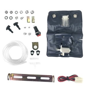 Universal Windsn Washer Bottle Bag Kit with 12 Volt Pump For Classic Car