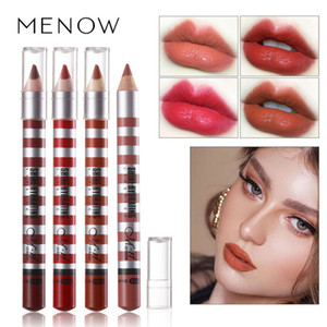 MENOW Long-lasting Lip Liner Matte Lipsticks Lip Pencil Waterproof Moisturizing Makeup Contour Cosmetics Wholesale DHL P152