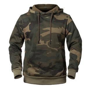 Mens Designer Hoodies Herbst-Winter-Langarm Tarnaufdruck Kapuze Thick Sweatshirts Fashion Casual Male Kleidung