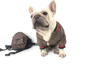 Filhote de cachorro Pet Dog Coats Moda Adorável Teddy Cão Schnauzer casacos de moda Pet Outwear Dog Confecções HJ22