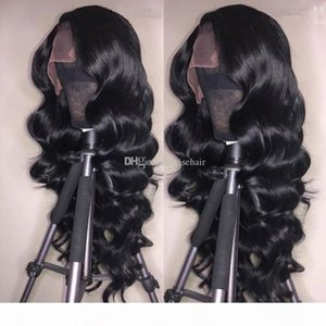 Loose Wave Human Lace Wigs Top Grade Brazilian Malaysian Virgin Silky Human Hair Lace Front Wig Natural Hairline Full Lace Wigs Pre-Plucked