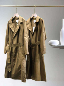 20FW Fashion Women Jackets Long Lady Windbreaker Jacket Active Coat Button Streetwear Clothes Corset Trench Coats Size S-L