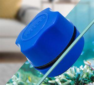 Hot Garden Aquarium Fish Tank Magnetic Clean Brush Glass Floating Algae Scraper Curve Glass Cleaner Scrubber Tool Window Cleaning Magnet