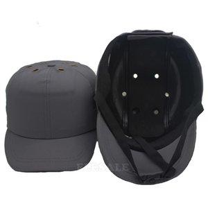 New Safety Bump Cap Capacete estilo do basebol de protecção rígido PP Hat Para Work Shop Fábrica de transporte Head Protection OGW1
