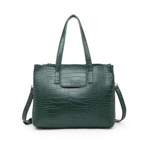 Le cuir sacs à bandoulière de mode Realer femmes PU pour les dames Vagabonds grande capacité sacs fourre-tout motif crocodile sac femmes Nouveau