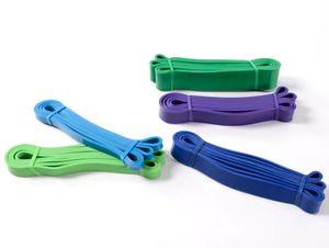 Verkauf der Fabrik Yoga Latex Gummiband Yoga Gurt Spanngurt Stärke Fitness Kreis Punktwiderstandsband