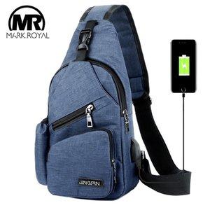 MARKROYAL Sport USB Charging Crossbody Bags For Women Messengers Bag Nylon Short Trip Shoulder Bags For Chest Bag 200928