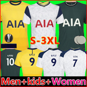 20 21 Tottenham BALE KANE soccer jersey HOJBJERG BERGWIJN LO CELSO spurs 2020 2021 LUCAS DELE SON football shirt uniforms men + kids kit