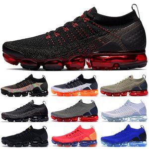 Envío libre de calidad superior de los zapatos corrientes de los hombres de las mujeres zapatos transpirables zapatillas de deporte para hombre formadores zapatos casuales 36-45