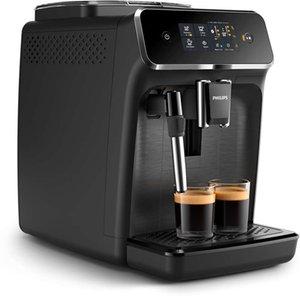 Philips EP2220 / 10 Tam Otomatik Espresso Makinesi Dokunmatik ekran Süt Frother-Aqua Clean Dokunmatik Perdesi-2 İçecek Filtre uyumluluğu