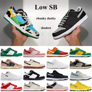 Low Dunk Classic SB Basketball shoes Chunky Dunky Shadow Travis Scotts Men Women outdoor Sneakers panda pigeon pro muslin black Trainers