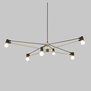 Minimalist Star Distributed Chandelier Living Room Ceiling Chandelier E27 LED Bulbs Included Indoor Art Deco Pendant Lamp
