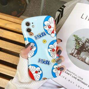 szbobo pequeña caja bonita cintura para iPhone 7plus x x xr xsmax 11 11promax se2020 7 8 historieta de Doraemon cáscara blanda Coque