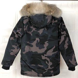 2020 inverno parka Homme Jassen Chaquetas Cappotti Big pelliccia con cappuccio Fourrure Manteau Canada piumino Expedition cappotto Hiver Doudoune11
