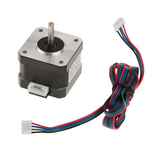 42 Stepper Motor Nema 17 Bipolar 42mm 4.4kg.cm 1.68A 4 Lead 3D Printer Hobby CNC with Motor Line