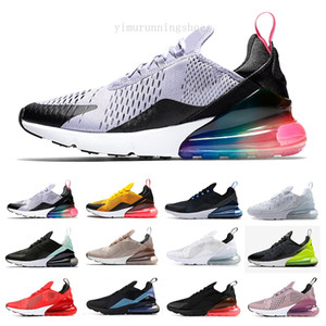 Cheap Running Shoes Men Women Trainer 27C BE TRUE Hot Punch Triple Black White Oreo Teal Photo Blue Designer 270s Sports Sneakers Size KGF96