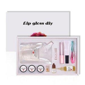 Gel Base di lusso Moisturizing Lip Gloss Set Lip Gloss Rossetto Glaze Materiale Crea il Tuo Rossetto fai da te