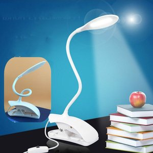 New LED desk lamp creative clip Book lamp bedroom bedside lamp children's eye care learning desk light