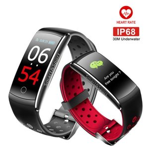 Q8s Smart Band Wristband Heart Rate Blood Pressure Fitness Tracker Step Calorie Smart Bracelet Color Screen Wearable Devices