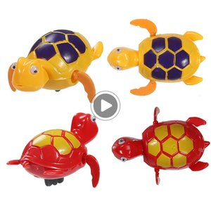 ChildrenTake 목욕 장난감을 이동 원반 던지기 물고기 꼬리에 재미 장난감 수영 체인 거북이 아기 목욕 장난감 체인