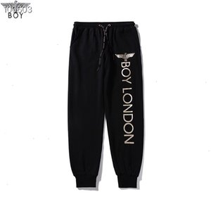 Пары Sweatpants Мода новая золочения печататься письмо педикюра брюки Personality свободного универсальный нижнего размером M-2XL