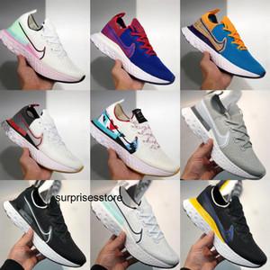 2020 Nike Epic React Infinity Run Legend React 3 Run Fearless men women running shoes knitting mesh Breathable sports designer sneaker CD4371-004