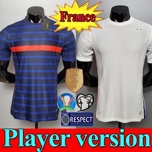 Maillots de football 2020 2021 MBAPPE GRIEZMANN POGBA 20 21 soccer jersey Player version FEKIR PAVARD football kit shirt hommes enfants