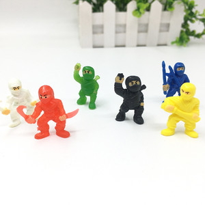 Wholesale Plastic Mini Doll Toys For Empty Capsule Promotion Gift PVC Material Ninja Shape Toy Kids