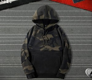 Men Camouflage Hoodies Fashion Brand Casual Hip Hop Mens Fleece Hoodies Military Pocket Full Sleeve Hooded Pullover Male Clothes33