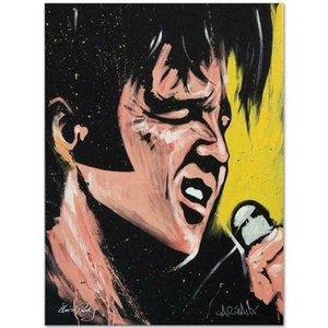 David Garibaldi Elvis Presley Ev Dekorasyonu Handpainted HD Yağ On Tuval Wall Art Canvas Resimler 200.918 Boyama yazdır