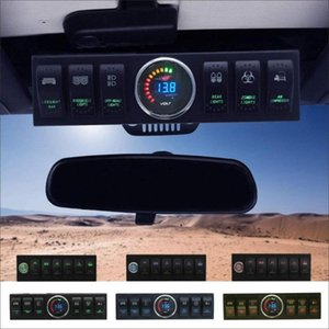 Wrangler JK JKU 2009-2020 Overhead 6-Switch / Pannello di controllo con e auto sistema di Fonte