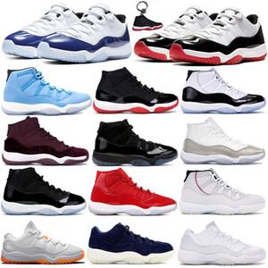 Jumpman 11 개 11S 농구 신발 25 주년 기념 모자와 드레스 승리 (96) 콩고 사육 공간 걸림 망 여자 같은 트레이너 스포츠 스니커즈