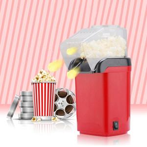 Sıcak Hava Yağsız 1200W 110V Mini Ev Sağlıklı Mısır Patlatma Makinesi Makine Mısır Home For Mutfak Eu Tak Mini Popcorn Maker