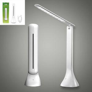 LED Настольная лампа Диммируемый Touch Book Light USB зарядка Reading Light Chargeable Настольная лампа Портативный складной лампы GTTL04