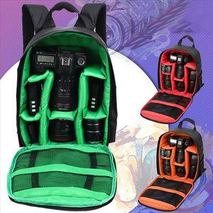 Sac à dos numérique à sac à dos imperméable à sac à dos Sac à dos multifonction extérieure Sac à dos caméra antichoc pour Nikon Canon SLR Sac à lentilles