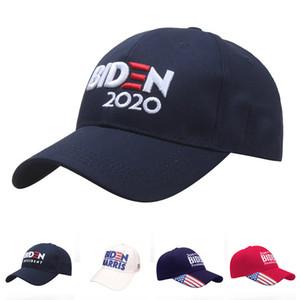 Joe Biden 2020 Biden Hat Elección de los Estados Unidos Vota por su presidente Mujeres Hombres Hats Gorra de sol ajustable Gorra de algodón Tapa de béisbol Envío gratis