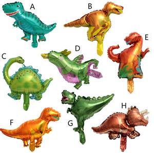 4D Yürüyüş Dinozor balon Folyo Balonlar Boys Hayvan Balonlar Çocuk Dinozor doğum günü partisi Jurassic Dünya Dekor Balon