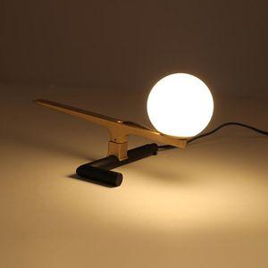 Simple Modern Gold Bird Table Lamp Brass Animal Desk Lamp Living Room Dining Room Bedside Home Decor Lighting